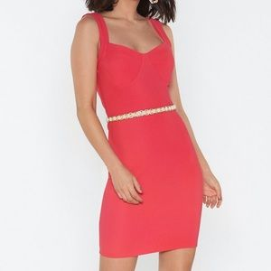 "Nasty Gal ""Havin a party Bustier"" Dress"